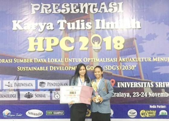 Nusabali.com - mahasiswa-undiksha-sabet-juara-ii-karya-tulis-ilmiah-nasional