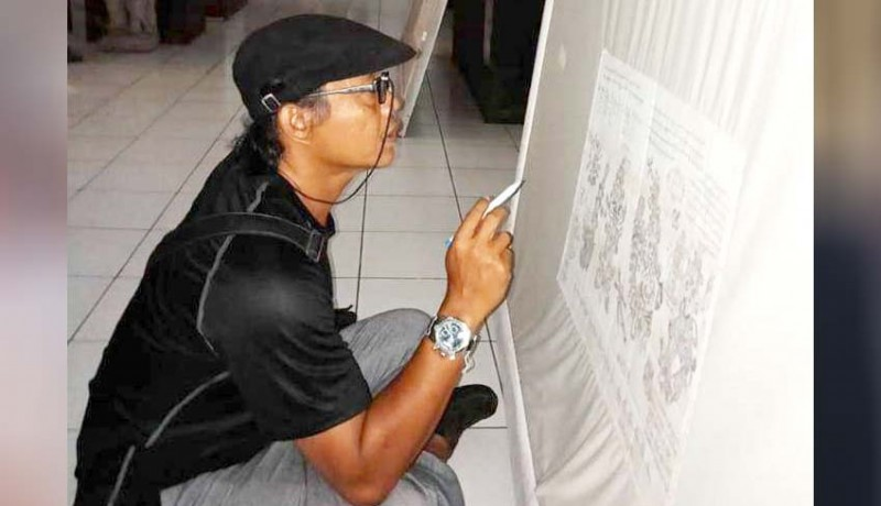 www.nusabali.com-tim-cagar-budaya-observasi-lukisan-bali-klasik-di-museum-gunarsa