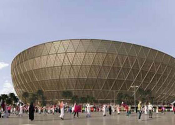 Nusabali.com - qatar-pamerkan-stadion-final-piala-dunia-2022