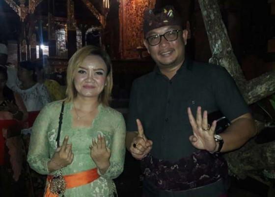 Nusabali.com - dua-calon-senator-saling-dukung