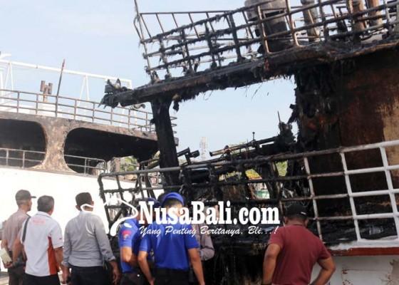 Nusabali.com - pasca-kapal-terbakar-belasan-saksi-diperiksa