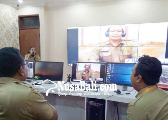 Nusabali.com - pemkab-tabanan-launching-tabanan-command-centre