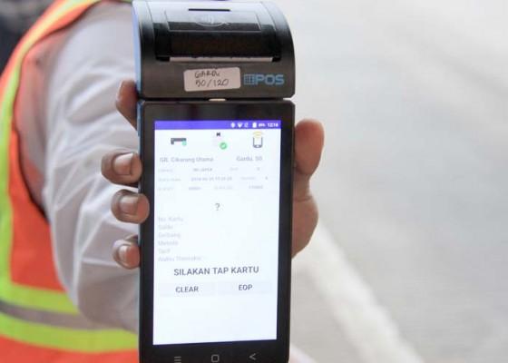 Nusabali.com - antisipasi-kemacetan-di-gerbang-tol-jbt-siapkan-mobile-reader