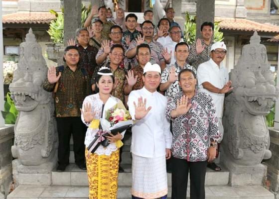 Nusabali.com - bandung-belajar-olah-sampah-di-klungkung