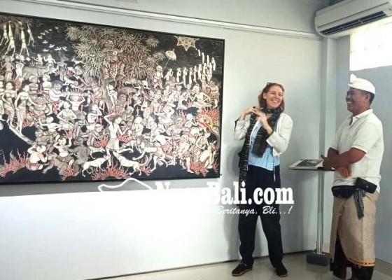 Nusabali.com - pelukis-batuan-gelar-pameran-petunjuk-neraka
