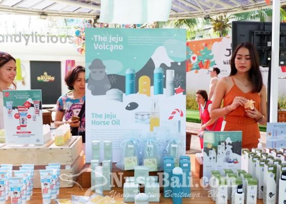 Nusabali.com - jeju-mall-hadirkan-produk-perawatan-kulit-dari-pulau-jeju-korea-di-beachwalk-bali