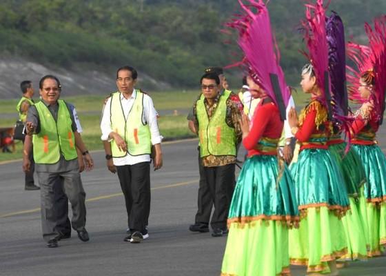 Nusabali.com - presiden-resmikan-lima-bandara