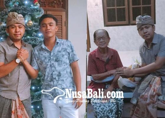 Nusabali.com - pererat-toleransi-antar-umat-yowana-kuta-utara-bagi-bagi-parcel
