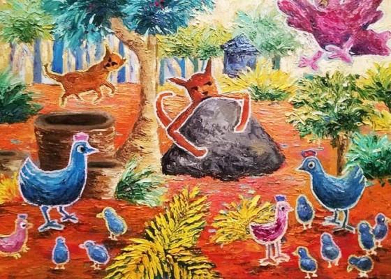 Nusabali.com - delapan-seniman-gelar-pameran-lukisan-happy-ending