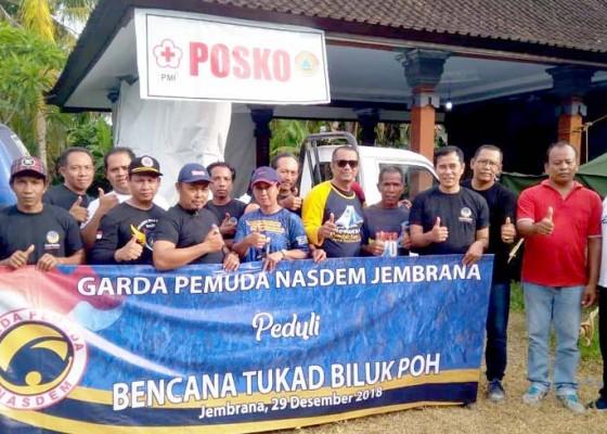 Nusabali.com - garda-pemuda-nasdem-gelar-aksi-kemanusiaan