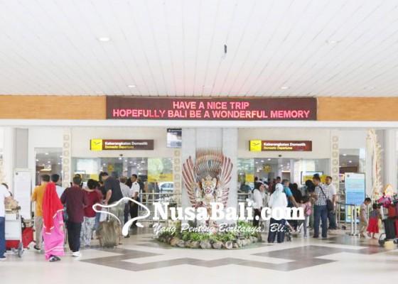 Nusabali.com - 12-hari-bandara-layani-827-ribu-penumpang