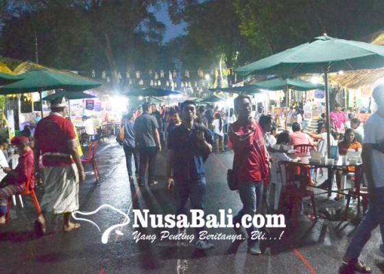 Nusabali.com - transaksi-di-denfest-2018-tembus-rp-7-miliar