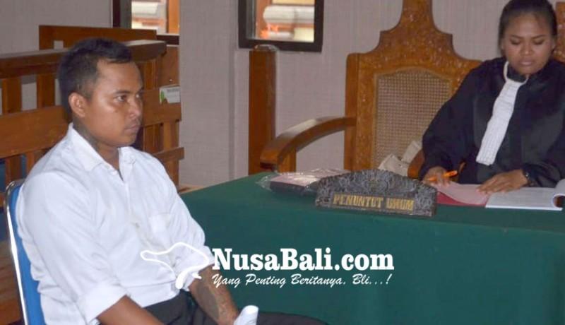 www.nusabali.com-hajar-pemotor-terancam-3-tahun-penjara