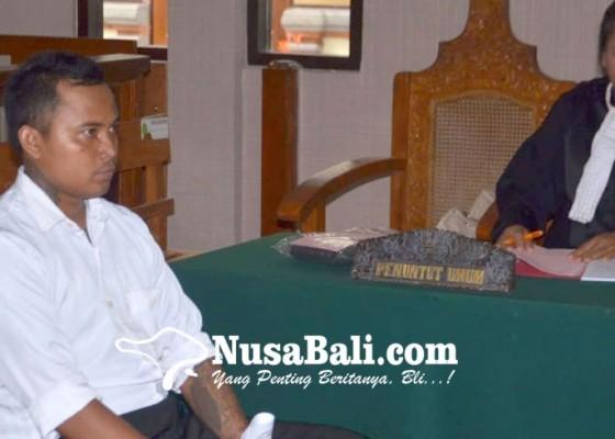 Nusabali.com - hajar-pemotor-terancam-3-tahun-penjara