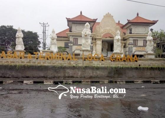 Nusabali.com - pasar-loka-crana-belum-terisi-papan-nama-bali
