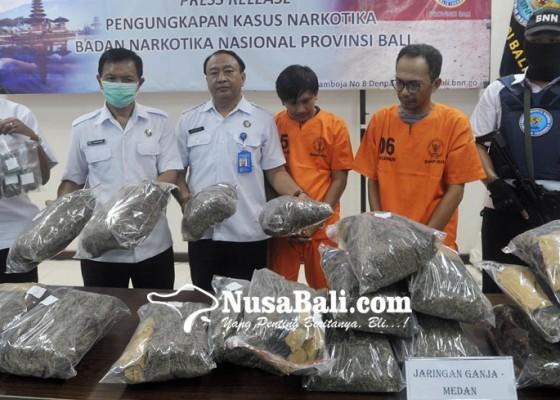 Nusabali.com - barang-haram-dikirim-dari-medan-ke-bali-lewat-jasa-jne