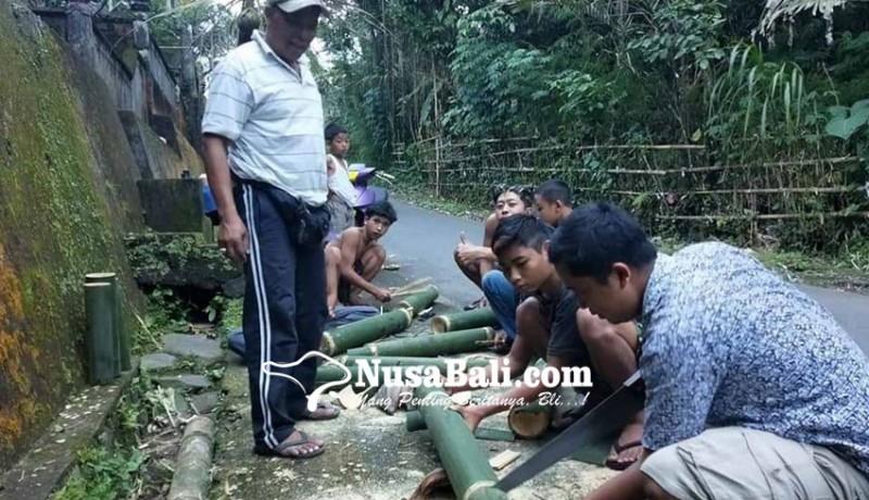 www.nusabali.com-songsong-ritual-oncang-oncangan-krama-sukaluwih-siapkan-25-kulkul