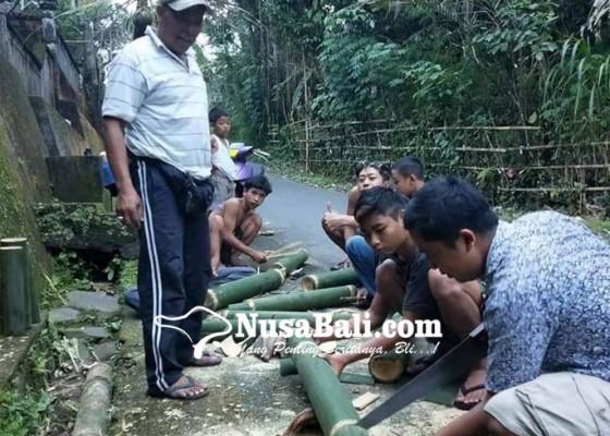 Nusabali.com - songsong-ritual-oncang-oncangan-krama-sukaluwih-siapkan-25-kulkul
