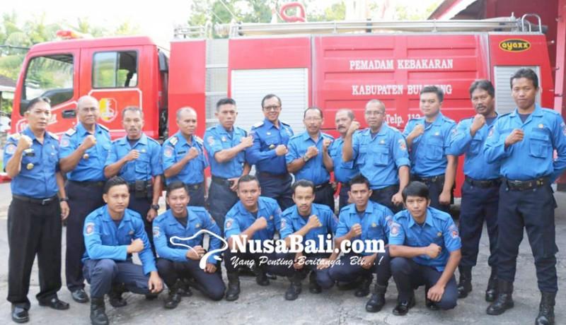 www.nusabali.com-petugas-damkar-belum-miliki-standar-kualifikasi