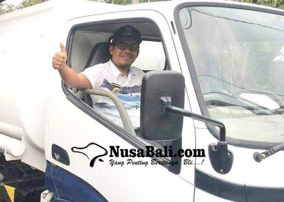 Nusabali.com - perbekel-sukadana-siapkan-mobil-tanki