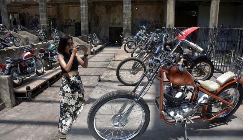 www.nusabali.com-ratusan-motor-custom-hiasi-taman-festival-bali