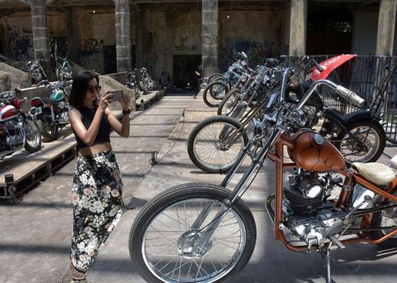 Nusabali.com - ratusan-motor-custom-hiasi-taman-festival-bali