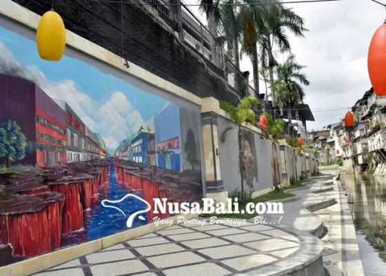 Nusabali.com - sepanjang-tukad-badung-sudah-siap-jadi-tempat-selfie
