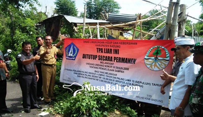 www.nusabali.com-dinas-lhk-segel-tps-ilegal-di-jimbaran