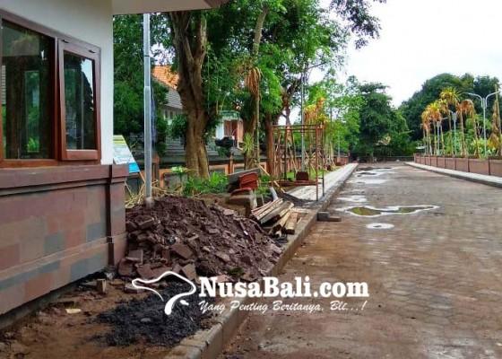 Nusabali.com - proyek-ruang-terbuka-hijau-rujab-tak-tuntas