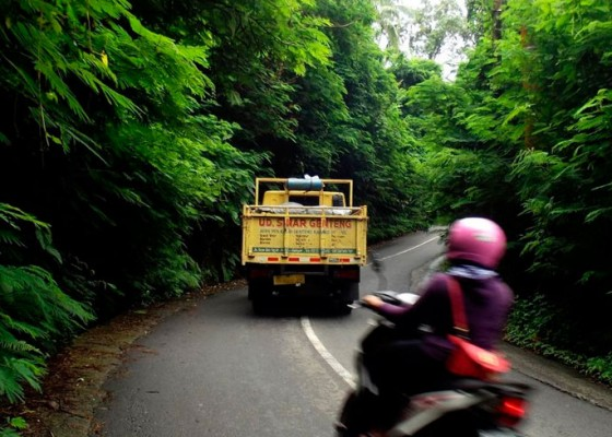 Nusabali.com - jalur-buahan-payangan-rawan-bahaya