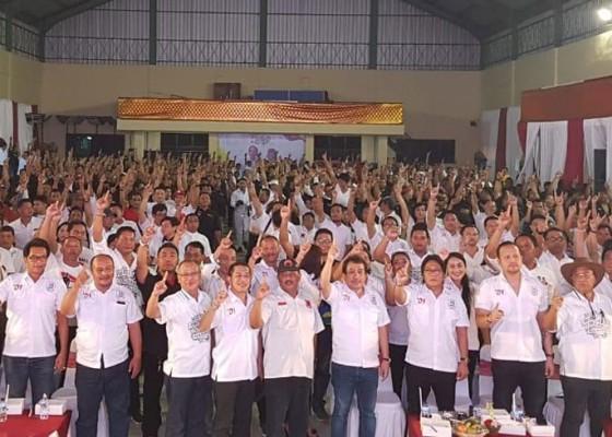 Nusabali.com - nobar-debat-capres-berlangsung-semarak