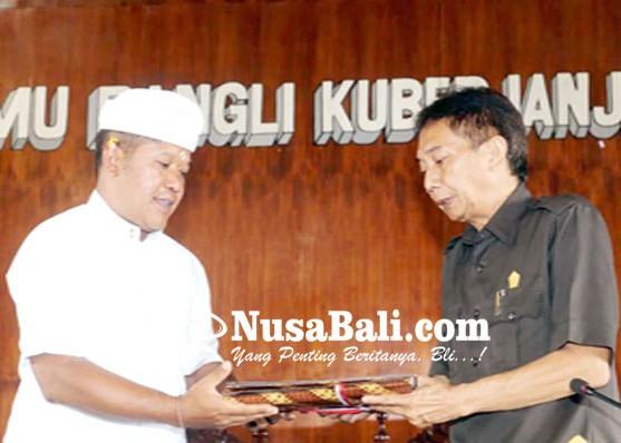 Nusabali.com - eksekutif-ajukan-empat-ranperda