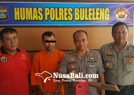 Nusabali.com - tagih-tunggakan-leher-debt-collector-ditempel-parang