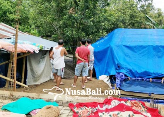 Nusabali.com - korban-gempa-masih-tempati-tenda-penampungan