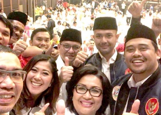 Nusabali.com - pilpres-menantu-mulai-kampanyekan-jokowi