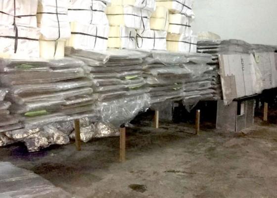 Nusabali.com - simpan-logistik-kpu-badung-sewa-gudang-baru