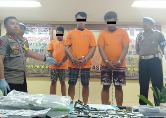 Nusabali.com - anggota-ormas-pengedar-shabu-diringkus