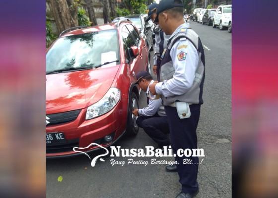 Nusabali.com - dishub-cabut-pentil-45-kendaraan