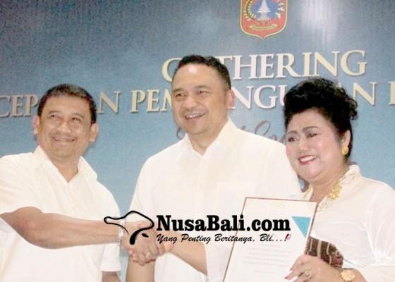 Nusabali.com - bupati-karangasem-tatap-muka-dengan-krama-bali-perantauan