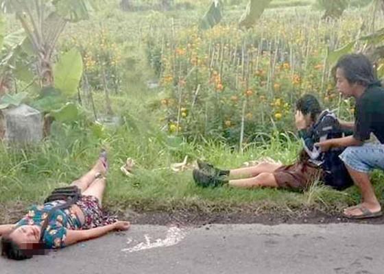 Nusabali.com - siswi-smp-bersama-ibunya-jadi-korban-tabrak-lari