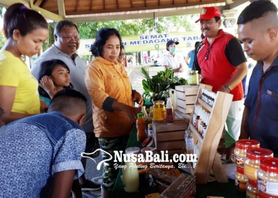 Nusabali.com - bantu-usaha-kecil-pasarkan-produk-diskop-tabanan-luncurkan-semat