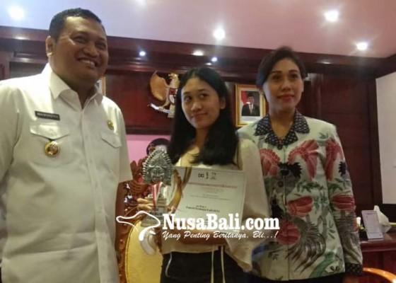 Nusabali.com - pertama-ikut-lomba-langsung-jawara-putri-remaja-bali-2019