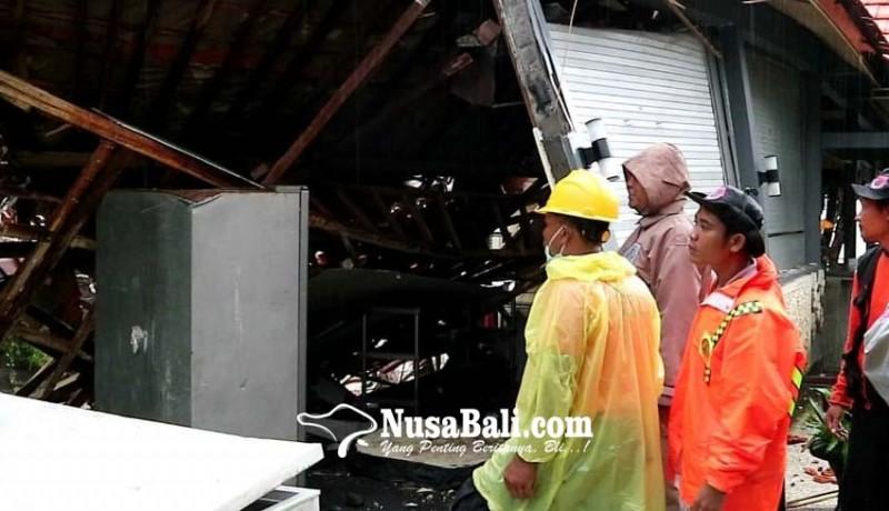 www.nusabali.com-diterjang-banjir-dapur-hotel-jebol