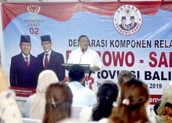 Nusabali.com - deklarasi-relawan-prabowo-sandi-tak-gubris-survei