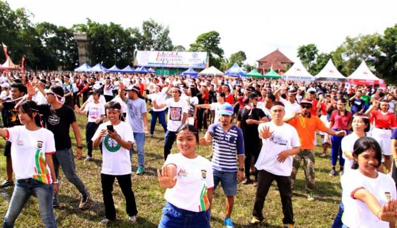 www.nusabali.com-ribuan-milenial-ikuti-mrsf-di-bangli