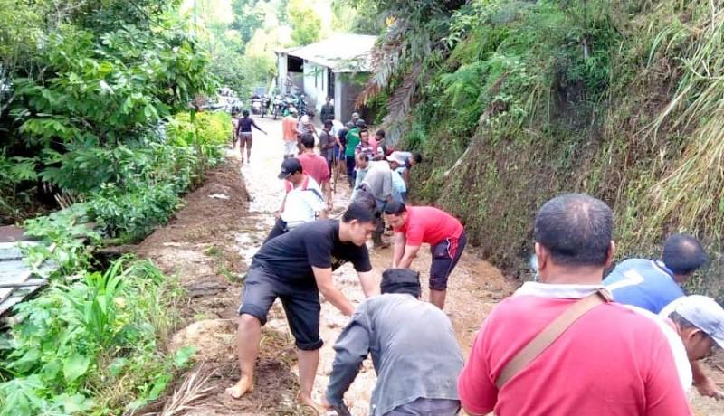 www.nusabali.com-longsor-munduk-sempat-putus-akses-tiga-banjar