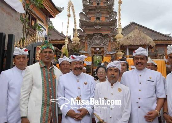 Nusabali.com - merajan-agung-puri-nongan-gelar-ngenteg-linggih