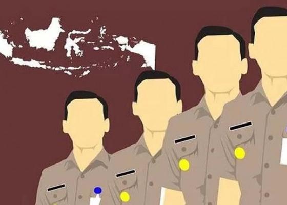 Nusabali.com - calon-pelamar-p3k-datangi-kantor-badan-kepegawaian