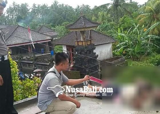 Nusabali.com - buruh-bangunan-tewas-setrum-listrik