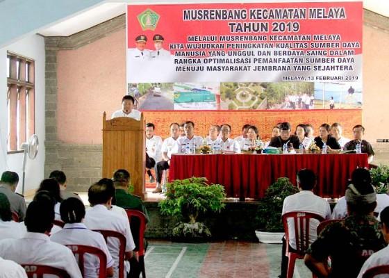 Nusabali.com - musrenbang-kecamatan-melaya-usulkan-pagu-anggaran-rp-71-m